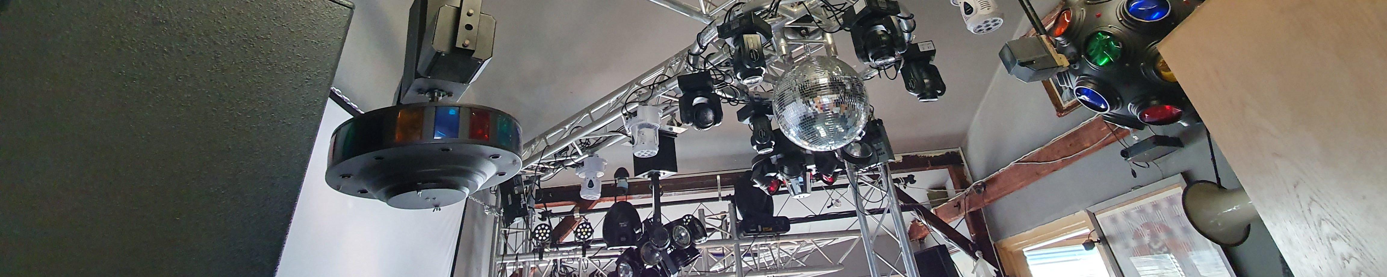 Die Beste Feier – Vintage Disco Lichteffekte und mehr.